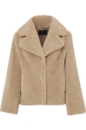 Unreal Fur Women Coats - Faux shearling coat
