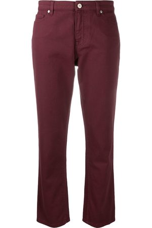 Paul Smith Women Straight - Cropped straight-leg jeans