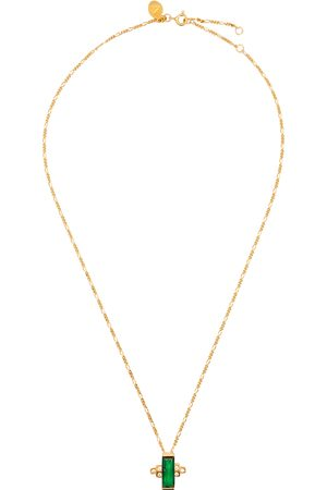 V by Laura Vann Audrey 18kt gold-plated necklace