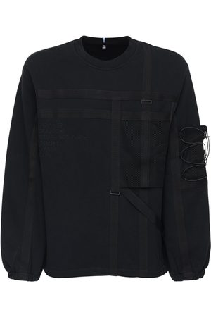 McQ Foam Cotton Sweatshirt W/ Pockets