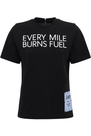 McQ Foam Printed Cotton Jersey T-shirt