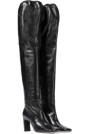 Wandler Exclusive to Mytheresa – Anne leather over-the-knee boots