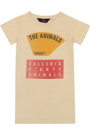 The Animals Observatory Gorilla cotton-jersey dress