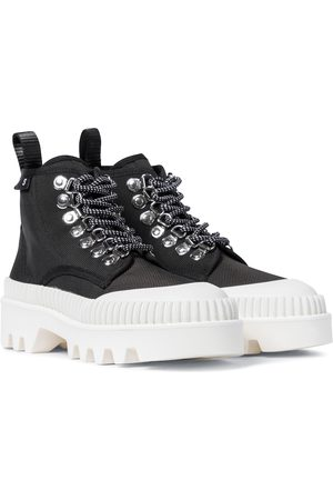 Proenza Schouler City canvas ankle boots