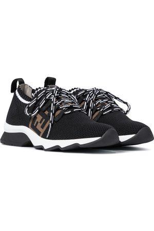 Fendi FF mesh-knit sneakers