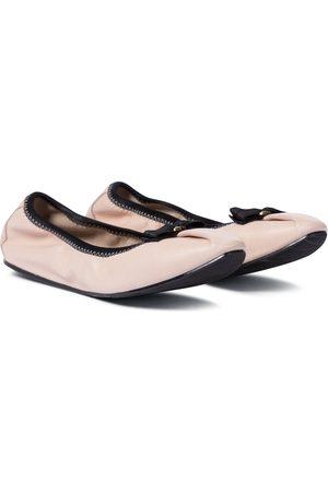 Salvatore Ferragamo Leather ballet flats