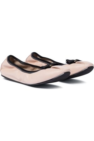 Salvatore Ferragamo Women Ballerinas - Leather ballet flats