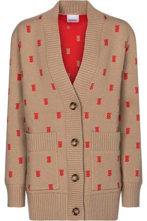 Burberry Monogram wool-blend cardigan