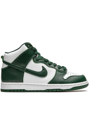 "Nike Men Sneakers - Dunk High ""Spartan Green"" sneakers"