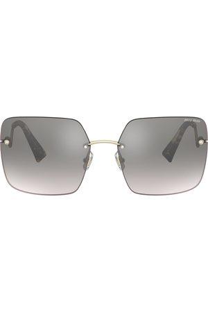 Miu Miu Scenique square-frame sunglasses - Grey