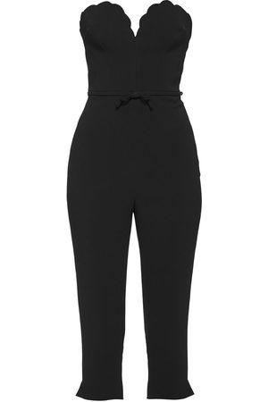 Miu Miu Cady scallop-trim jumpsuit