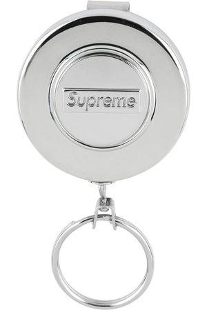Supreme Retractable logo keychain