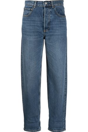 BOYISH DENIM High-waisted tapered jeans