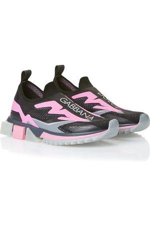 Dolce & Gabbana Women's Knit Slip-On Sneakers