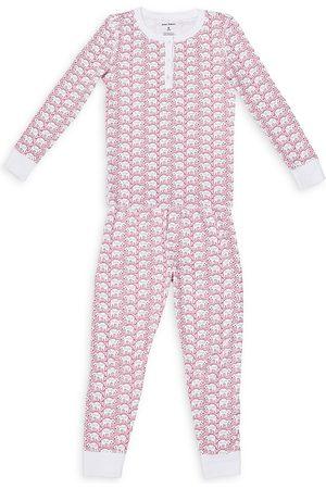 Roller Rabbit Unisex Cotton Hathi Pajama Set - Little Kid, Big Kid