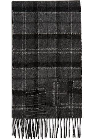 Barbour Men Scarves - Tartan Merino Wool & Cashmere Scarf