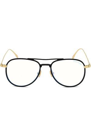 Tom Ford Women's 52MM Blue Block Aviator Eyeglasses