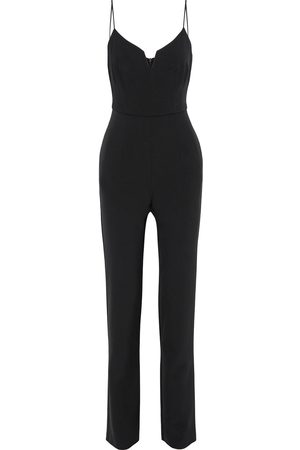 Black Halo Women Jumpsuits - Woman Stretch-cady Jumpsuit Size 0