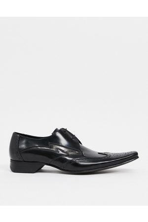 Jeffery West Pino lightning bolt lace-up shoes in