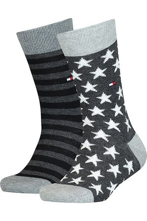 Tommy Hilfiger Socks - Kids Stars And Classic Stripes 2 Pack