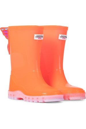 SOPHIA WEBSTER Butterfly rubber rain boots