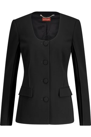 Altuzarra Tamar scoop-neck cady jacket