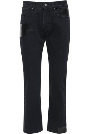 "McQ Men Slim - ""foam"" Slim Fit Cotton Denim Jeans"