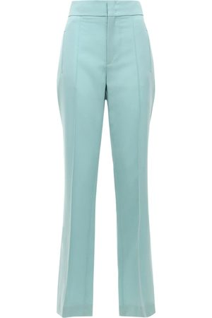 Isabel Marant Lokia Tailored Wool Straight Pants