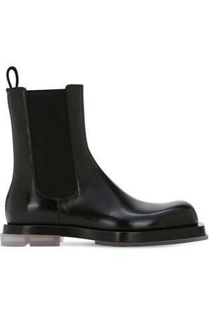 Bottega Veneta Men Chelsea Boots - Chelsea Leather Boots