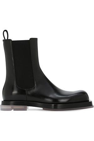 Bottega Veneta Men Chelsea Boots - Chelsea Leather Boots