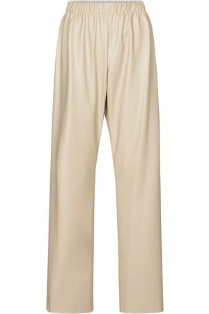 Deveaux New York Savannah faux leather pants