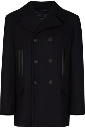 Salvatore Ferragamo Short double-breasted peacoat