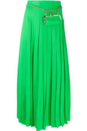 Seen Users Women Maxi Skirts - Long pleated skirt