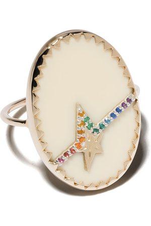 Pascale Monvoisin 9kt yellow diamond Varda Nº3 ring