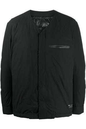 ATTACHMENT Collarless padded jacket