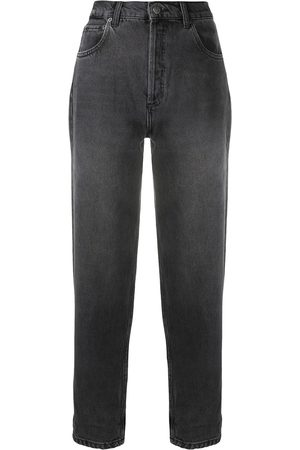BOYISH DENIM High rise straight leg jeans - Grey