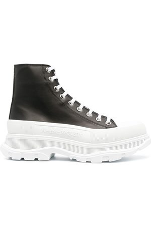 Alexander McQueen Men Lace-up Boots - Tread Slick lace-up boots