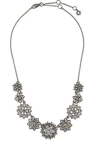 Marchesa Floral-pendant necklace