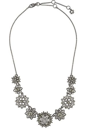 Marchesa Notte Women Necklaces - Floral-pendant necklace
