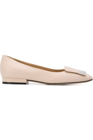 Sergio Rossi Low heel ballerina shoes - Neutrals