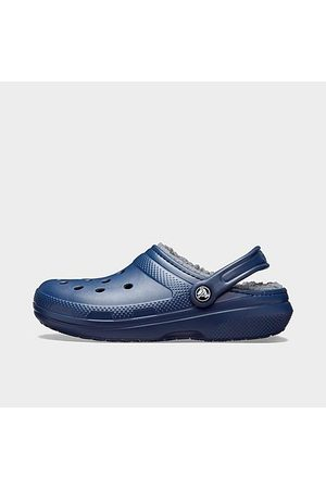 Crocs Men Clogs - Classic Lined Clog Shoes in /Navy Lined Size 7.0