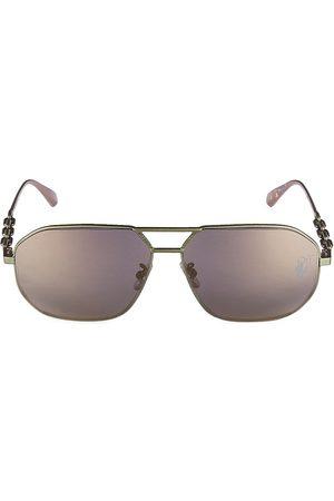 OFF-WHITE Men's 61MM Square Brow Bar Sunglasses