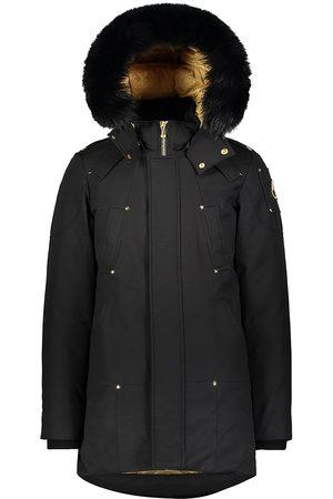 Moose Knuckles Men's Stag Lake Fox Fur-Trim Down Parka - - Size XL