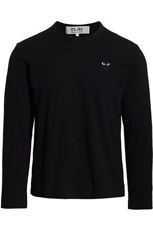 Comme des Garçons Men's Graphic Heart Long-Sleeve Tee - - Size Medium