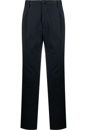 Incotex Mid-rise tapered chinos