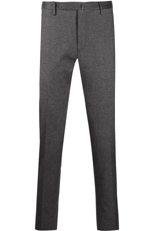 Incotex Mid-rise slim-fit chinos - Grey