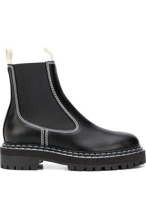 Proenza Schouler Contrast-stitch Chelsea boots