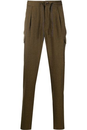 Incotex Flannel tapered-leg trousers