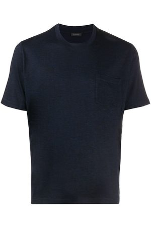 ZANONE Short-sleeved knitted T-shirt
