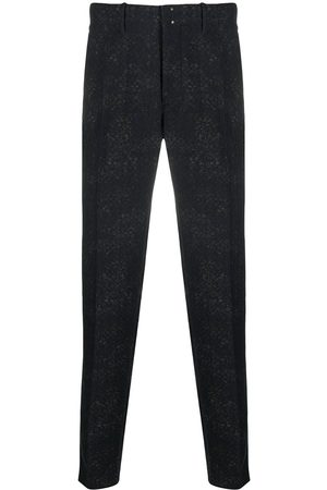 Incotex Slim-fit jacquard trousers